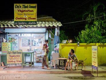 On's Thai Issan, puede que el mejor vegetariano de Kanchanaburi