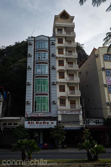 El hotel Ali Baba's de Cat Ba