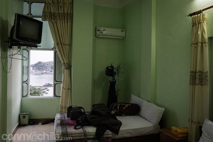 Nuestra habitación con vistas