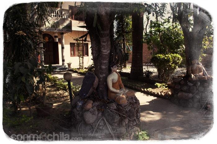 Nuestro hotel en Chitwan