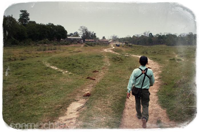 Nuestro primer guía en Chitwan