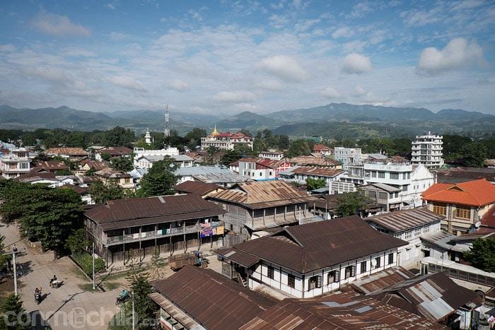 Hsipaw, en el norte de Myanmar