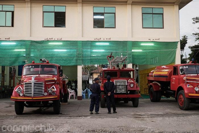 El cuerpo de bomberos de Hsipaw