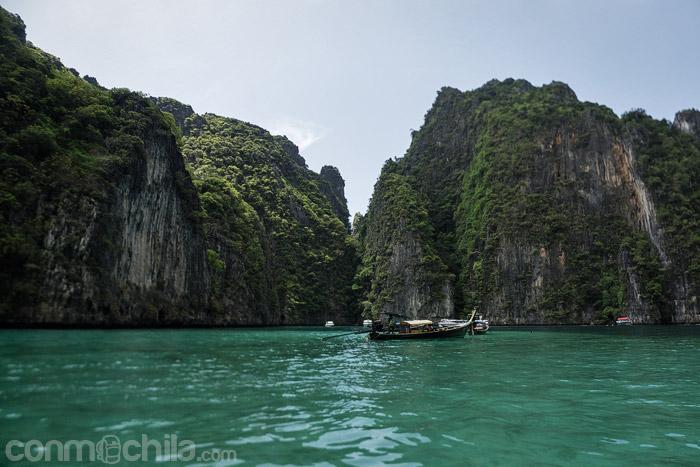 Lugar donde paramos a hacer snorkeling