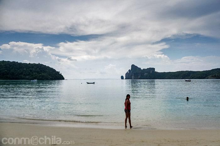 la playa de Loh Dalam bay