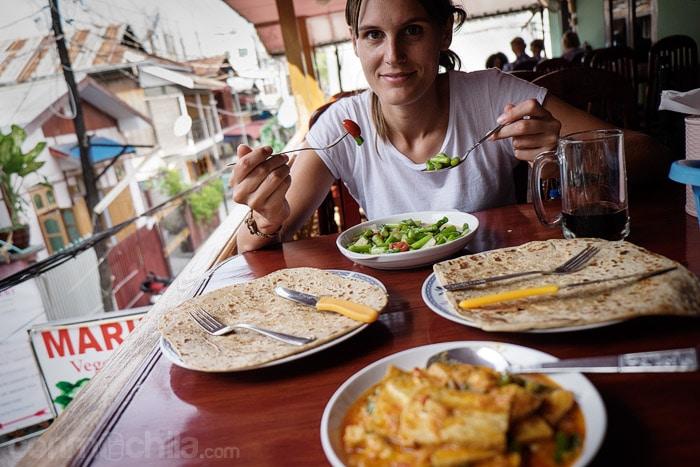 Deliciosa comida vegetariana
