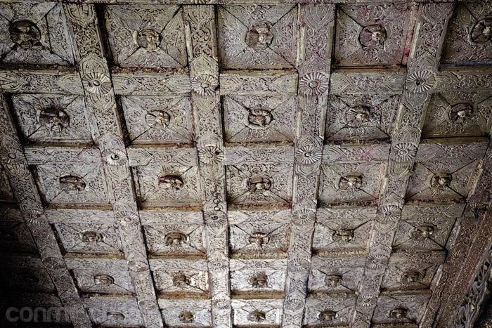 Detalle del techo interior