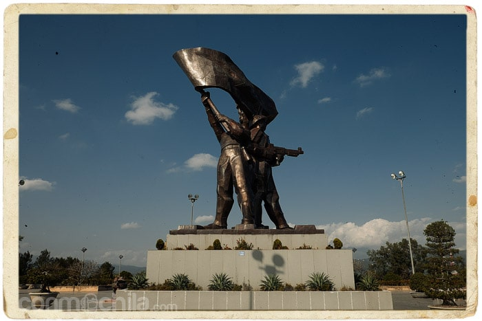 El monumento a la batalla