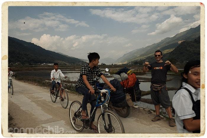 La parte buena del camino a Lai Chau