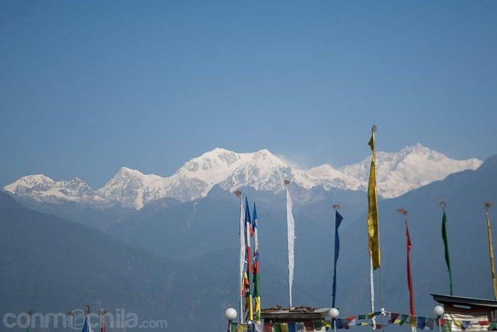 Vistas del Kanchenjunga desde Pelling