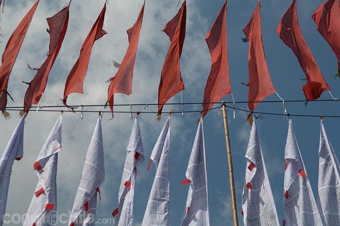 Banderas y más banderas