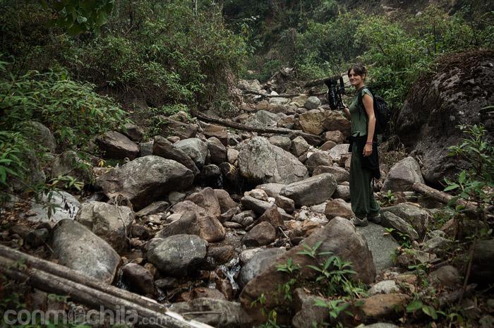 Esto fue lo único que encontramos buscando las cascadas