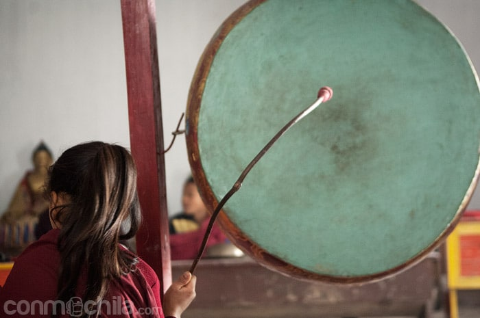 Uno de los tambores