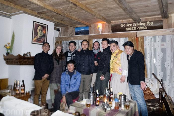 Despedida de Sikkim en buena compañía