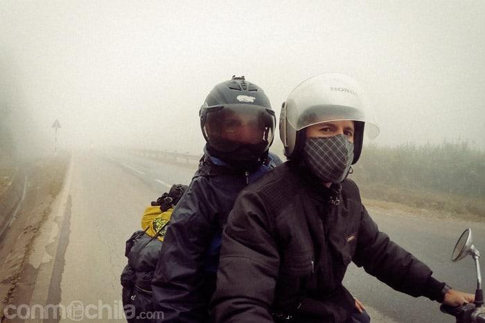 Frío + lluvia + niebla = ¿?
