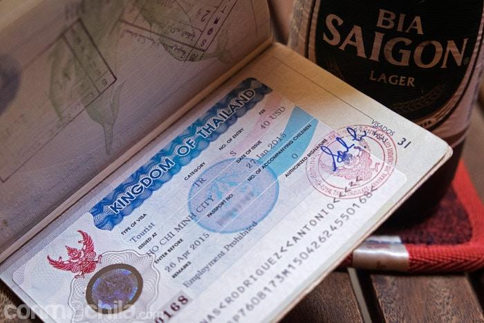 El visado de Tailandia en Ho Chi Minh