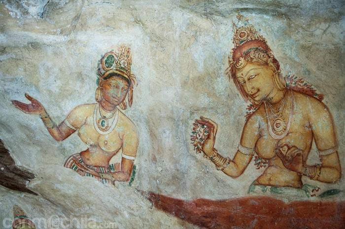 Uno de los frescos