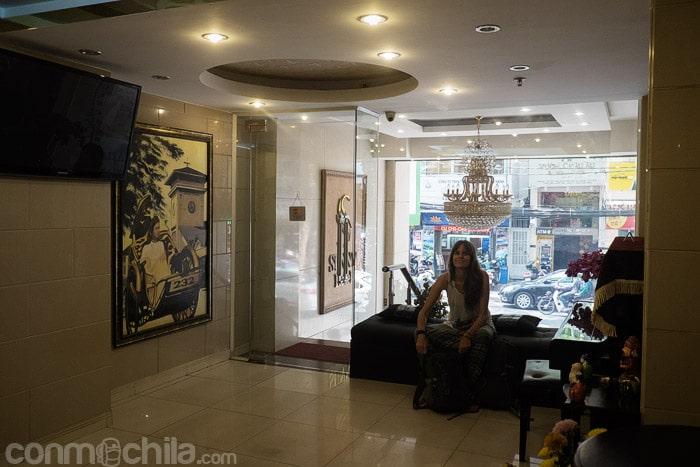 La recepción del Hotel New Sunny Saigon