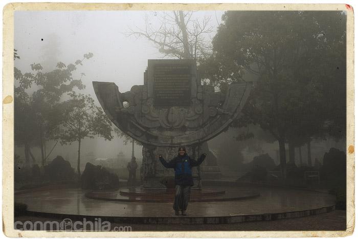 Bienvenidos a Sapa con niebla
