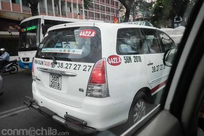 Taxi de la compañía Vinasun