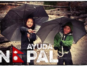 Ayuda a las víctimas del terremoto en Nepal