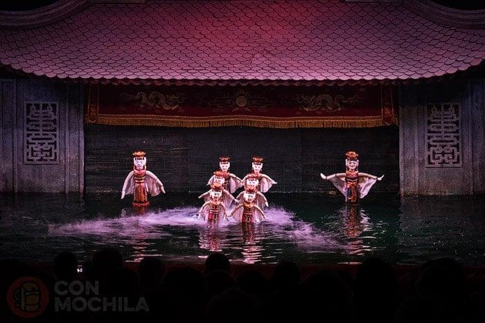 Las Marionetas Acu Ticas De Hanoi Un Bonito Espect Culo