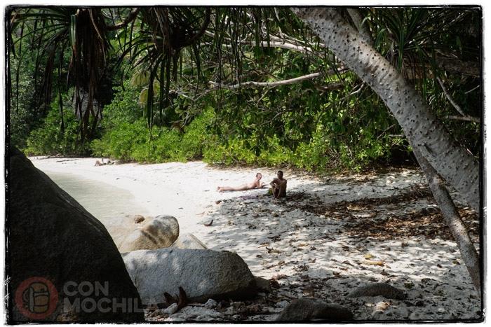 En las islas Perhentian de Malasia