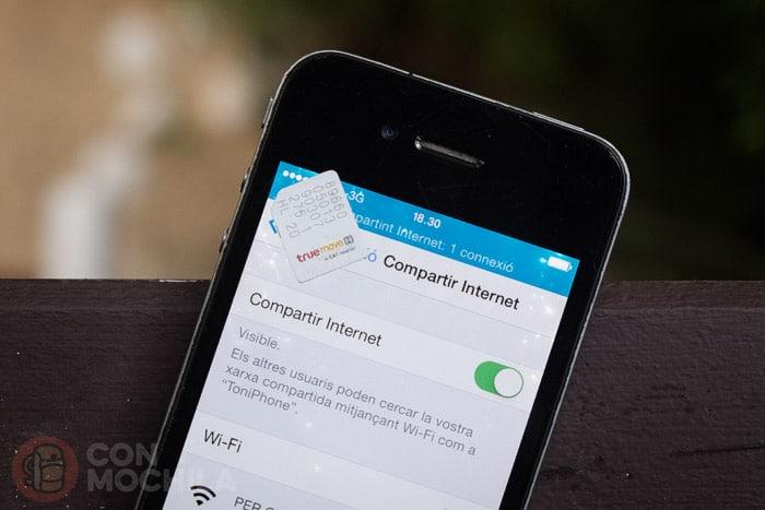 Tarjeta SIM con internet en Tailandia