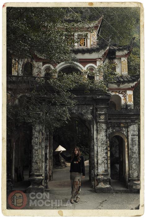 Fachada de la entrada