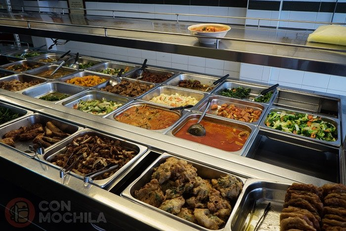 Muchos platos para elegir