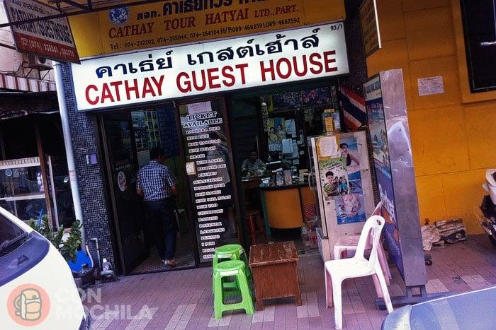 Agencia de viajes bajo la guesthouse