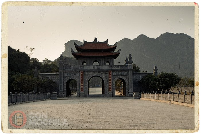 Entrada a la ciudadela de Hua Lu