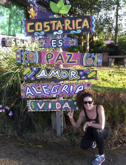 Costa Rica es paz, amor, alegría y vida