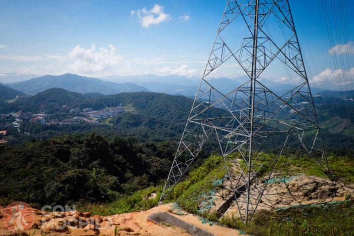 La torre de electricidad