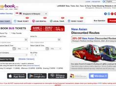 Easybook, reserva tus billetes de bus en Malasia de forma fácil