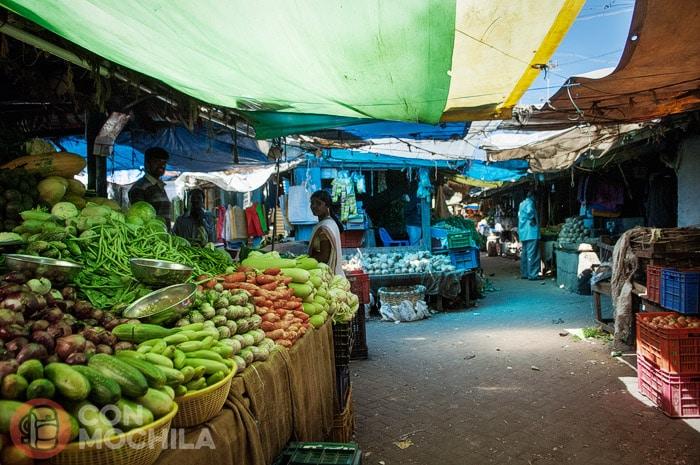 El mercado del pueblo