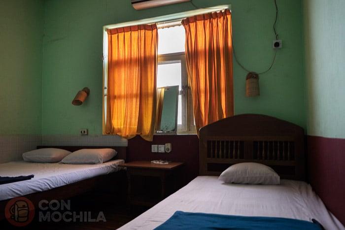 Nuestra básica habitación