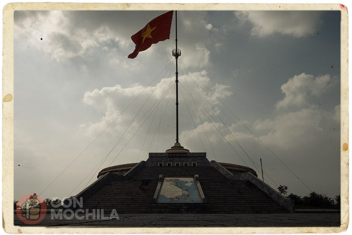 Monumento en el centro de Vietnam