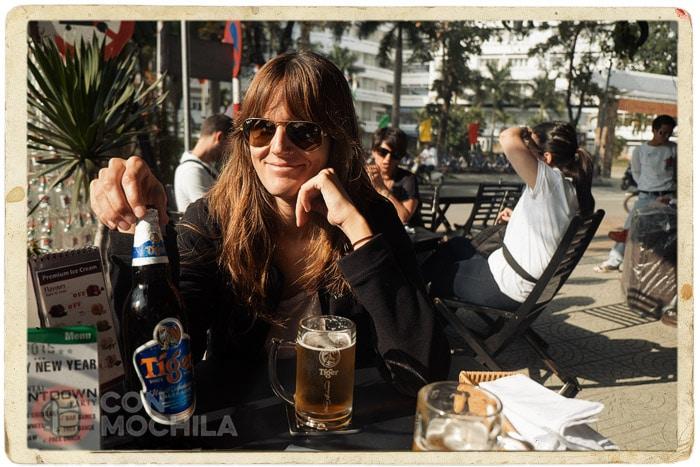 Una cervecita al sol, ¡por fin!