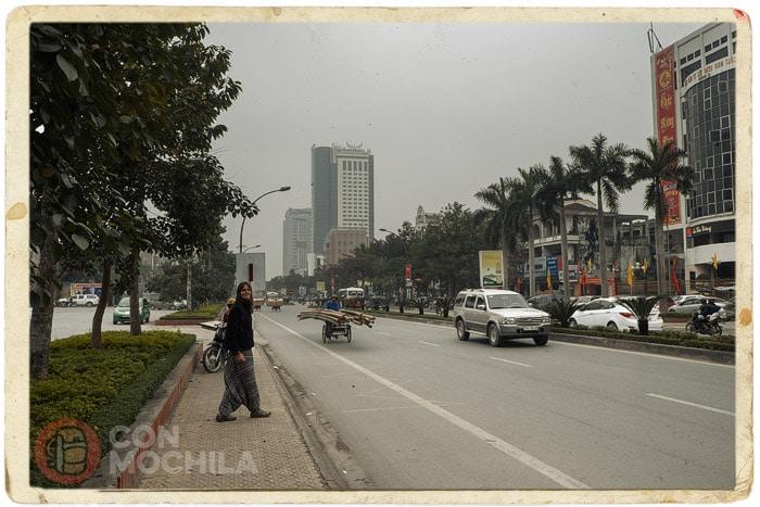La ajetreada ciudad de Vinh