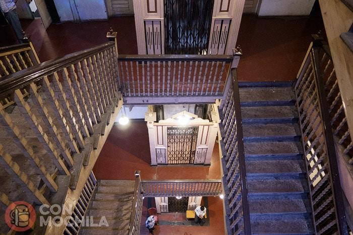 Las grandes escalinatas
