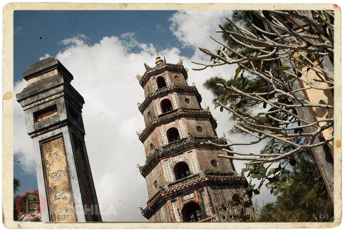 Detalle de la torre Phước Duyên