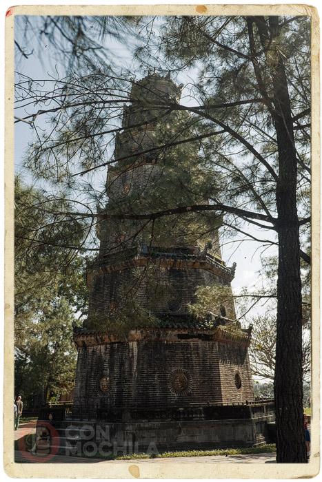 Otro detalla de la altura de la torre