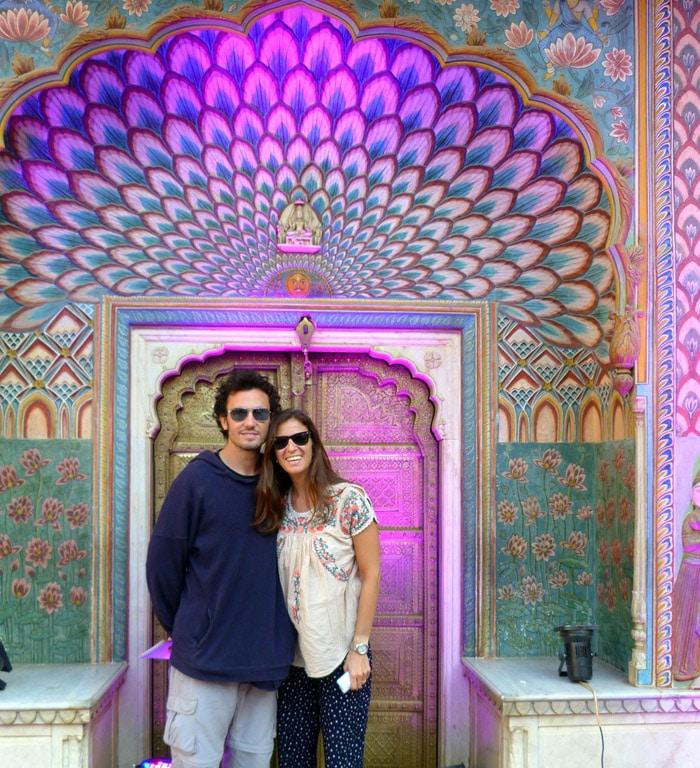 Itinerario de viaje a India: Puerta del Pavo Real. Palacio de la Ciudad. Jaipur