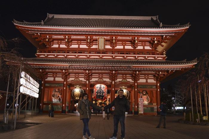 Senso-Ji Temple en Asakusa