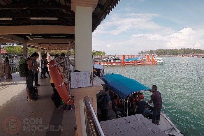 El puerto de Kuala Besut