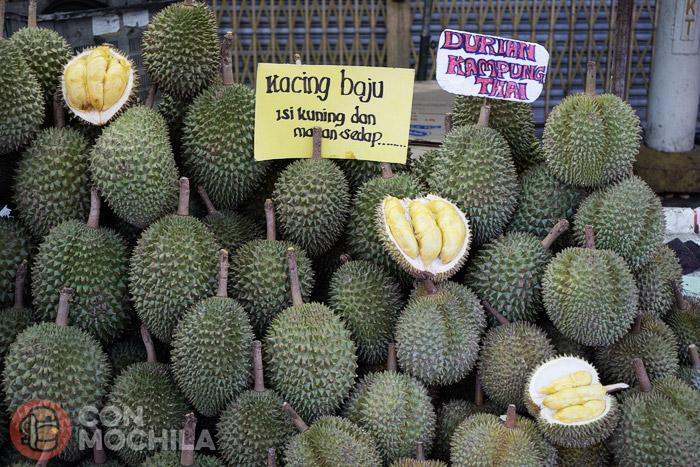 Los famosos (y olorosos) durian