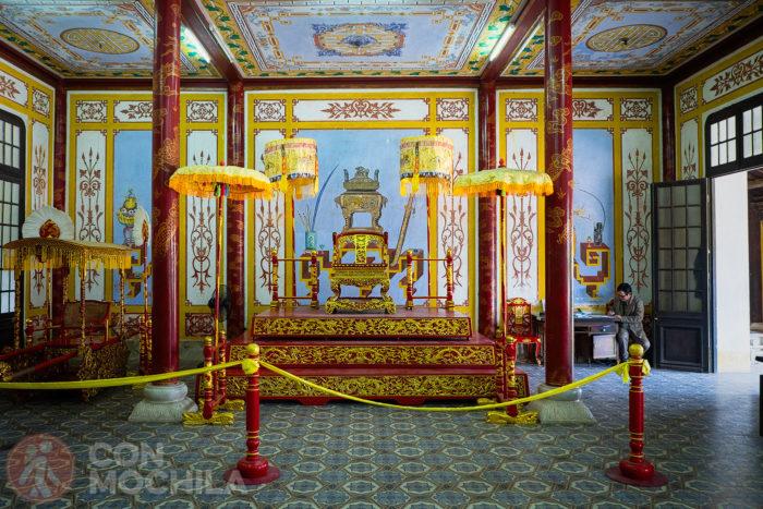 Entrada al palacio