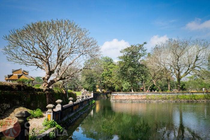 Vista del estanque