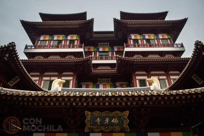 Facha del Buddha Tooth Relic Temple